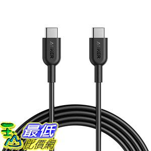 [8美國直購] 充電線傳輸線 Anker AK-A8482011 Powerline II USB C to USB C 2.0 Cable (6ft) USB-IF Certified
