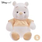 (現貨&日本實拍)日本DISNEY STORE 迪士尼商店限定 小熊維尼 雪白維尼 香檳金 L號 玩偶娃娃 40.5cm