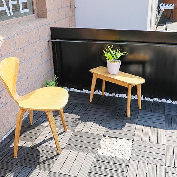 塑木拼接地磚 塑木地板 防潮防滑卡扣 拼接地板 木紋地板 木塑 ⭐星星小舖⭐ 台灣現貨
