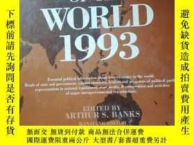 二手書博民逛書店political罕見handbook of the world
