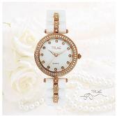 TRUeE 瑞時寶嘉 TC150295高雅純白陶瓷腕錶 (白)/34mm