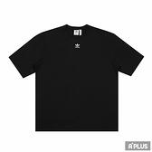 ADIDAS 女 圓領T(短) 刺繡 寬鬆 純棉 黑-GN4784