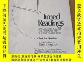二手書博民逛書店Timed罕見Readings 老教材Y219761 Time