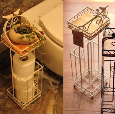多功能置物架收納 紙巾架 方形衛生間紙巾收納架