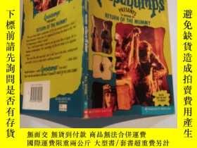二手書博民逛書店return罕見of the mummy 木乃伊的回歸Y200392 不祥