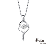 蘇菲亞SOPHIA - sweet heart 系列0.05克拉14K鑽鍊