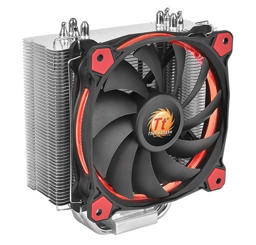 【超人百貨F】曜越 Riing Silent 12 CPU散熱器 (紅光) CL-P022-AL12RE-A