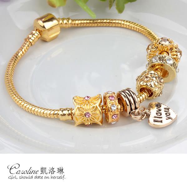 《Caroline》★【瑞祥】潘朵拉琉璃珠.優雅時尚品味典雅設計手鍊68753