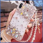 蘋果 iPhone13 iPhone12 i11 12 mini 12 Pro Max SE XS IX XR i8+ i7 i6 點綴金寶石 手機殼 水鑽殼 訂製