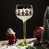 雞尾酒杯 小人杯 可愛高腳紅酒杯北歐ins風創意個性香檳雞尾酒杯子