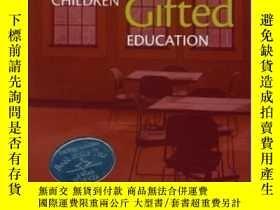 二手書博民逛書店Gifted罕見Children And Gifted Education: A Handbook For Tea