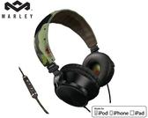 [nova成功3C] Marley 雷鬼 Revolution (EAR-MAR-JH023RV) (headphone) Revolution 迷彩綠 頭戴式耳機麥克風