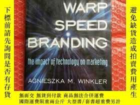 二手書博民逛書店warp罕見speed branding 曲速品牌 詳情看圖Y2
