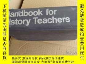 二手書博民逛書店Handbook罕見for History Teachers 英