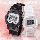 G-SHOCK x BABY-G 愛戀物語情人對錶 GLS-5600CL-1DR_BGD-560-7DR