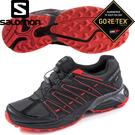 【SALOMON索羅門 男款 XT ASAMA GORE-TEX健野鞋《灰/紅》】394694/健野跑步/運動鞋