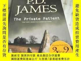 二手書博民逛書店P.D.JAMES罕見The private Patient(書內有倆也被撕 見圖)Y156452 見圖 見圖