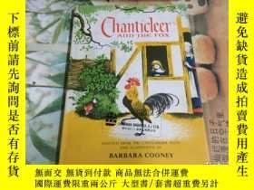 二手書博民逛書店CHANTICLEER罕見AND THE FOX 精裝Y2043