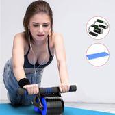 健腹輪捲腹肌滾輪鍛練收腹部馬甲線健身機器材家用減肚子男女通用 健美輪 都市韓衣