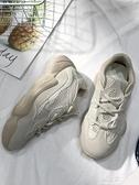 老爹鞋新款爆紅女鞋超火秋季休閒運動鞋ins潮鞋韓版百搭老爹鞋秋冬 易家樂
