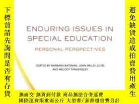 二手書博民逛書店Enduring罕見Issues In Special Educ