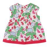 【愛的世界】純棉花盆半袖上衣/3歲-台灣製- ★春夏上著