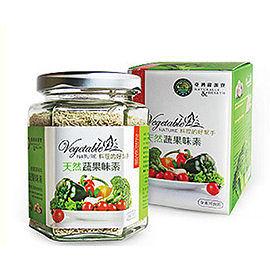 台灣綠源寶 竹鹽蔬果味素120g 純素 一罐