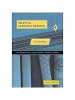 二手書博民逛書店 《In context : developing academic reading skills》 R2Y ISBN:0030340020│Zukowski