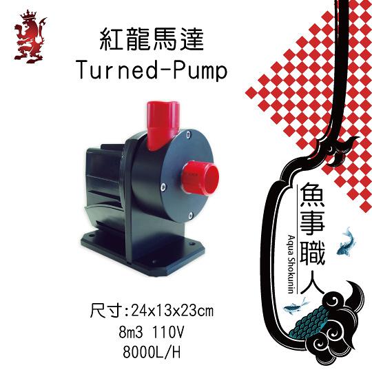 紅龍 Royal Exclusiv - 紅龍馬達 Turned-Pump 【8000L/H】- 魚事職人