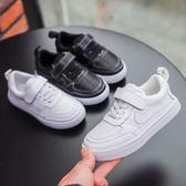 真皮2019春季新款女童小白鞋百搭韓版男童運動鞋子春款兒童板鞋潮