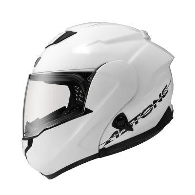 [中壢安信]法國 ASTONE RT1300F 素色 白 全罩 可掀式 航太材質 安全帽 可樂帽 內置墨片