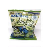 日本 入浴劑 沐浴劑 泡泡球 沐浴球-綠三眼怪 (0750) 單入 -超級BABY