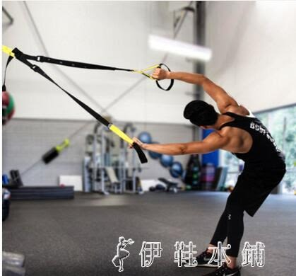 拉力繩身體核心鍛煉家用健身器材男女彈阻帶YYP 伊鞋本鋪