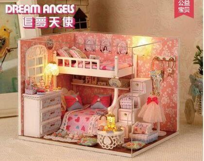 趣屋diy小屋公主房拼裝手工小房模型玩具創意