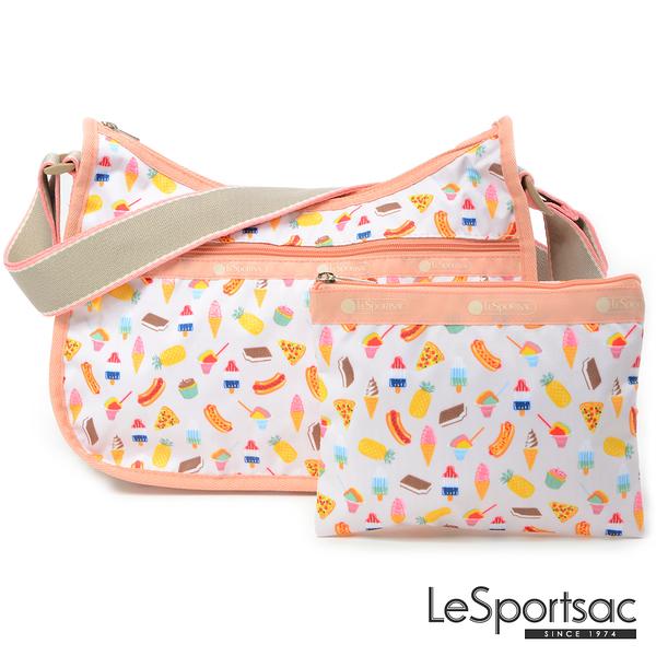 LeSportsac - Standard側背水餃包/流浪包-附化妝包 (夏季點心) 7520P F639