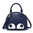 手提包-萌萌的卡通大眼睛肩背女貝殼包2款72an4【巴黎精品】