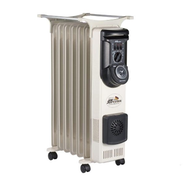 北方葉片式恆溫(7葉片)電暖器NR-07ZL