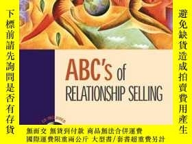 二手書博民逛書店Abc s罕見Of Relationship SellingY307751 Charles Futrell I