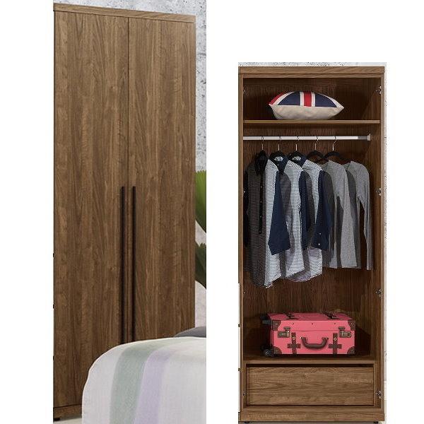 衣櫃 衣櫥 QW-101-6 緹諾2.64尺單吊衣櫃【大眾家居舘】