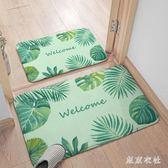 腳墊門墊進門浴室防滑墊踩腳地墊臥室家用衛生間門口吸水地毯 QQ6957『東京衣社』