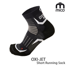 MICO OXI JET系列越野慢跑襪CA1272 (S-XL) / 城市綠洲 (義大利、萊卡、襪子、彈性、跑步)