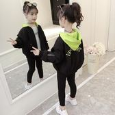 女童棒球服外套秋裝2018新款韓版時尚春秋童裝兒童洋氣上衣夾克潮第七公社
