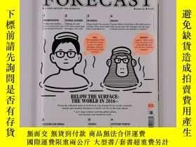二手書博民逛書店Monocle特刊罕見The Forecast 2016 issue03 展望2016 英文原版雜誌Y2229