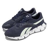 Reebok 慢跑鞋 Zig Dynamica 2.0 深藍 白 女鞋 鋸齒鞋底設計 科技大底【ACS】 S42638