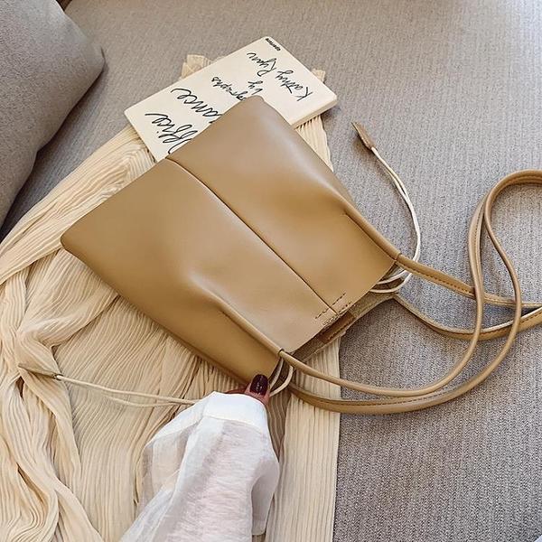 大容量包包女包新款夏天小清新單肩大包手提包女士包袋水桶包