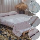 二層紗 K3 Kingsize床包與兩用被四件組 多款任選 台灣製造 柔軟親膚 棉床本舖