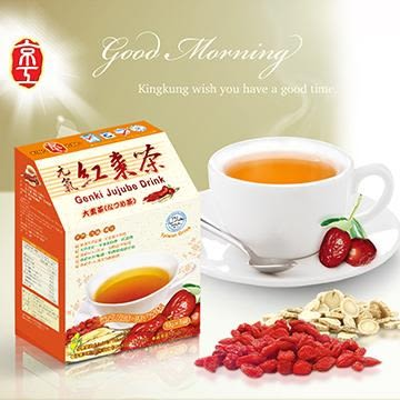 京工 元氣紅棗茶30入(2盒)