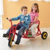 【Weplay】 雙人腳踏車→感覺統合 滑步車 教具 器材 積木 滑行車 復健 器材 飯店 診所