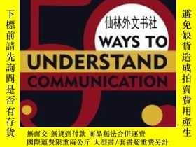 二手書博民逛書店【罕見】2006年 50 Ways To Understand