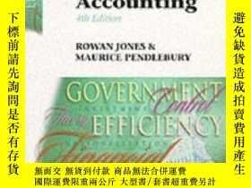 二手書博民逛書店Public罕見Sector Accounting-公共部門會計Y436638 Rowan Jones; Ma
